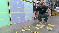 Бананы и картошка